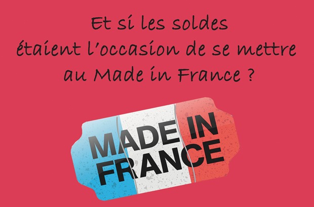 Soldes, l'occasion de se mettre au made in France