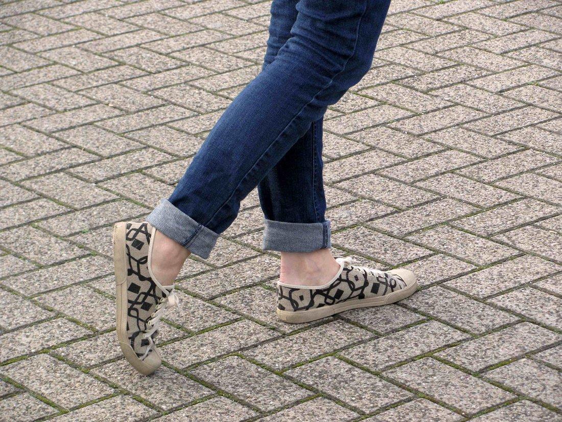 Chaussure de confection hexagonale