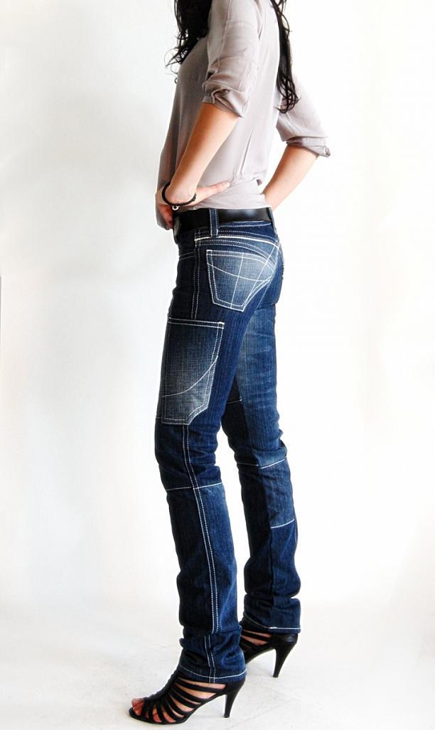 Jeans recyclé fabriqué en France